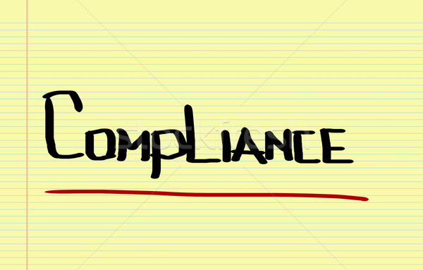 Compliance Concept Stock photo © KrasimiraNevenova