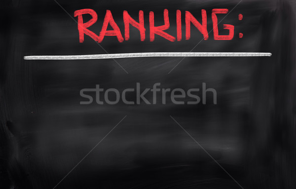 Ranking Concept Stock photo © KrasimiraNevenova