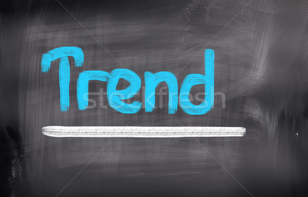 Trend marketing posta modern ötlet új Stock fotó © KrasimiraNevenova