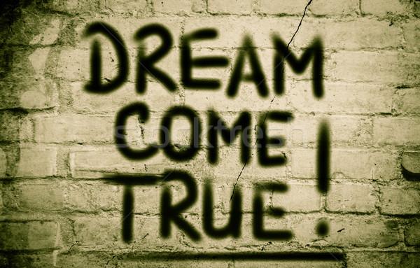Dream Come True Concept Stock photo © KrasimiraNevenova