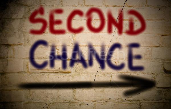 Second Chance Concept Stock photo © KrasimiraNevenova