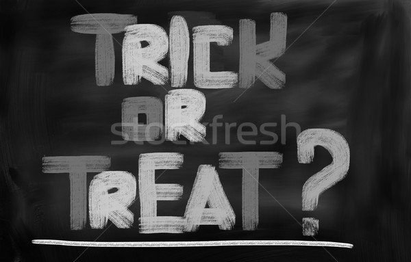 Trick Or Treat Concept Stock photo © KrasimiraNevenova