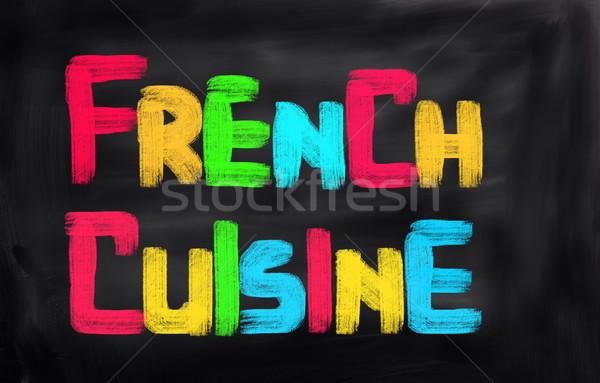 Francia konyha étel szőlő gurmé falatozó hagyományos Stock fotó © KrasimiraNevenova