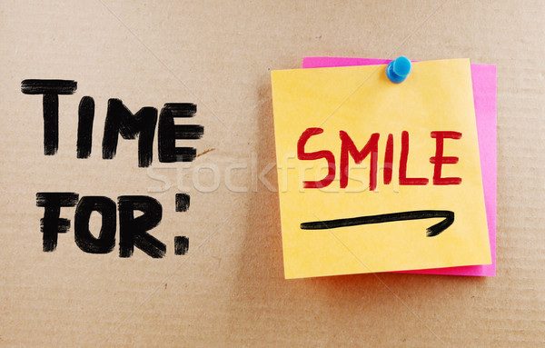 Time For Smile Concept Stock photo © KrasimiraNevenova