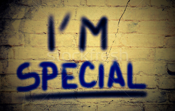 I'm Special Concept Stock photo © KrasimiraNevenova