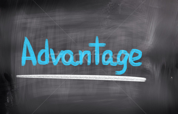 Advantage Concept Stock photo © KrasimiraNevenova