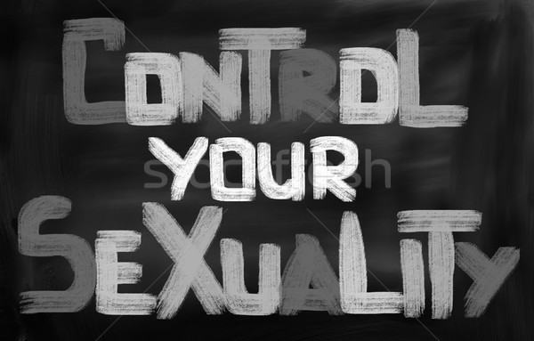 Control Your Sexuality Concept Stock photo © KrasimiraNevenova
