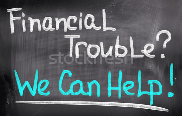 Financial Trouble Concept Stock photo © KrasimiraNevenova