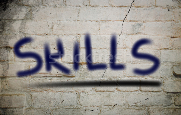 Skills Concept Stock photo © KrasimiraNevenova