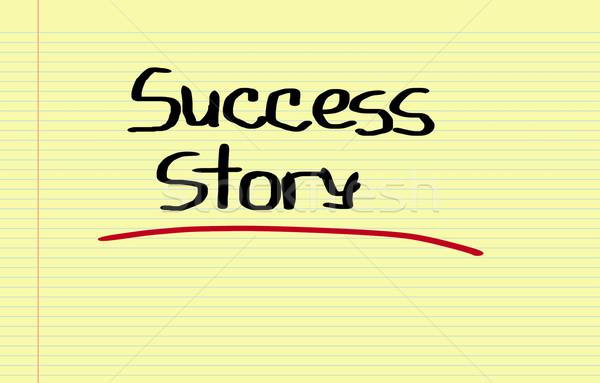 Başarı öykü iş Bina grup takım Stok fotoğraf © KrasimiraNevenova