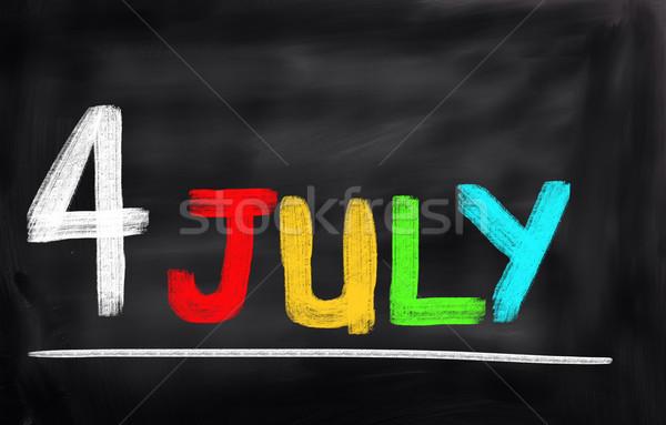 4 July Concept Stock photo © KrasimiraNevenova