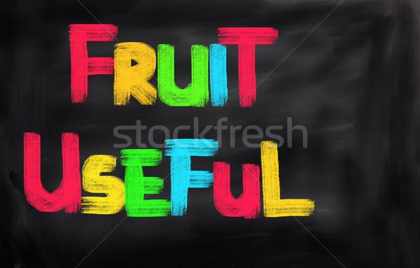Fruits Concept Stock photo © KrasimiraNevenova
