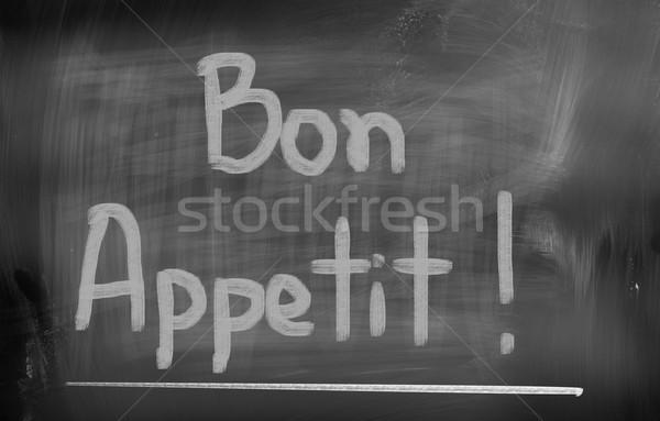 Bon Appetit Concept Stock photo © KrasimiraNevenova