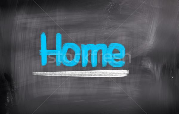 Home Concept Stock photo © KrasimiraNevenova