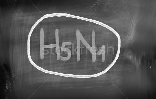 H5N1 Concept Stock photo © KrasimiraNevenova