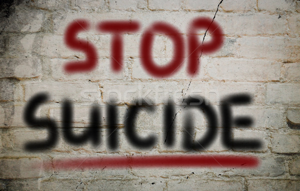 Stop Suicide Concept Stock photo © KrasimiraNevenova