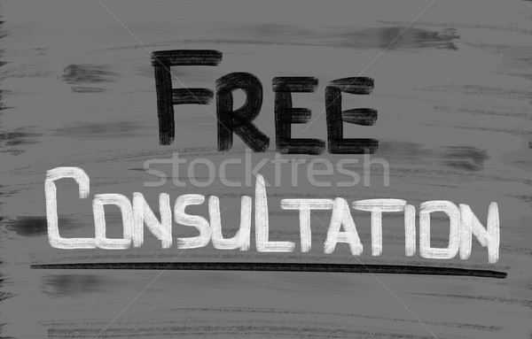 Szabad konzultáció munka technológia oktatás ír Stock fotó © KrasimiraNevenova