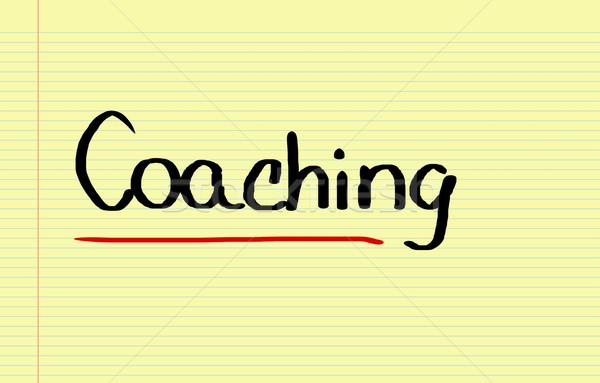 Coaching Concept Stock photo © KrasimiraNevenova