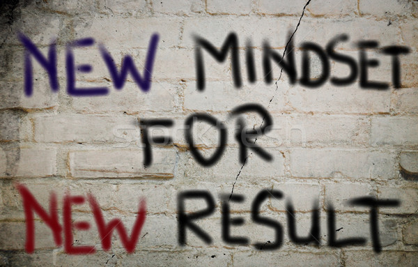 Mindset Concept Stock photo © KrasimiraNevenova