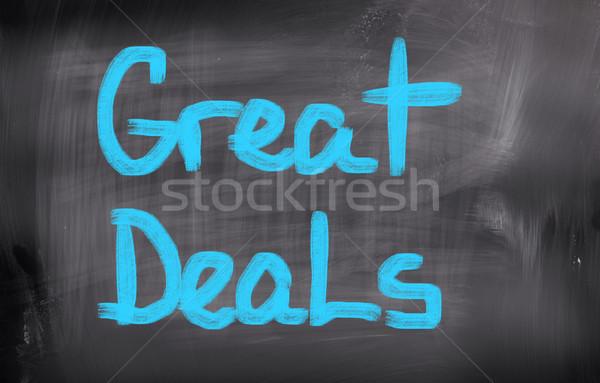 Great Deals Concept Stock photo © KrasimiraNevenova