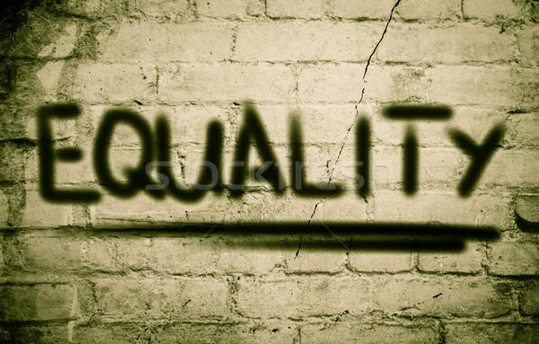 равенство бизнеса фон образование группа команда Сток-фото © KrasimiraNevenova