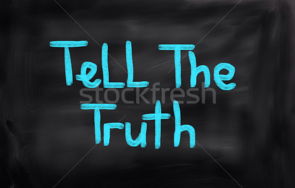 真実 ビジネス 信頼 文字 概念の 選ぶ ストックフォト © KrasimiraNevenova