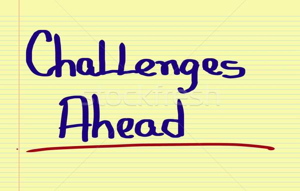 Challenge Concept Stock photo © KrasimiraNevenova