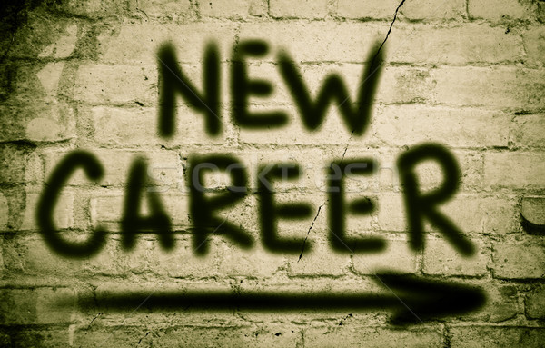 New Career Concept Stock photo © KrasimiraNevenova