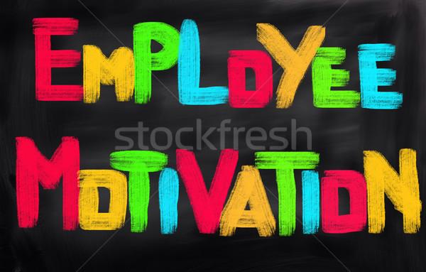 従業員 モチベーション ビジネス 作業 仕事 人 ストックフォト © KrasimiraNevenova