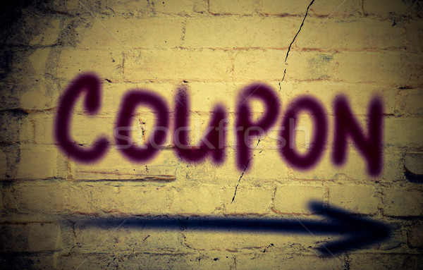 Coupon Concept Stock photo © KrasimiraNevenova