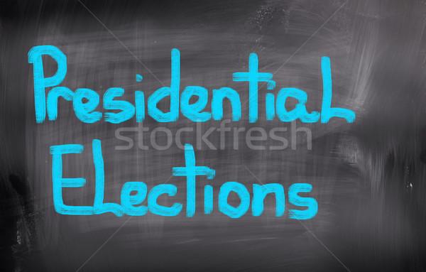 Wybory danych prawnych głosowania polityka USA Zdjęcia stock © KrasimiraNevenova