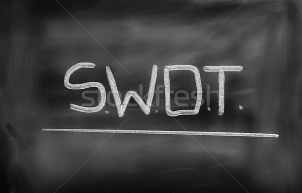 Swot Concept Stock photo © KrasimiraNevenova