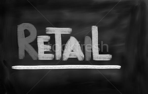 Menor moda modelo tienda mercado ropa Foto stock © KrasimiraNevenova