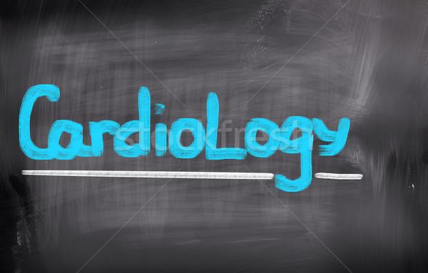 Cardiology Concept Stock photo © KrasimiraNevenova