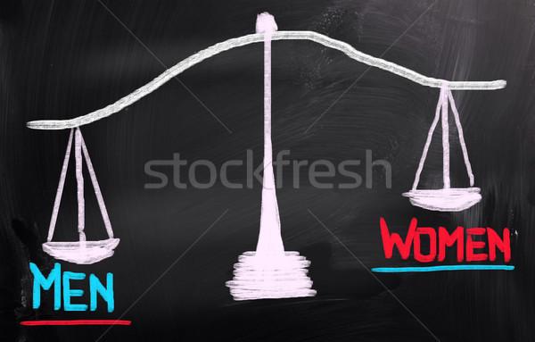Men Women Concept Stock photo © KrasimiraNevenova