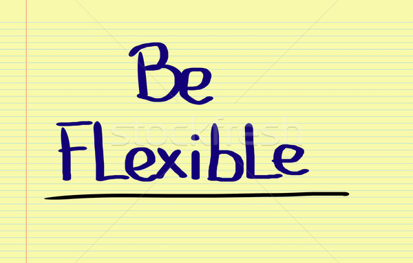 Be Flexible Concept Stock photo © KrasimiraNevenova