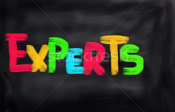 Experts Concept Stock photo © KrasimiraNevenova