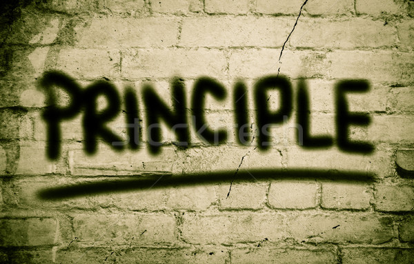 Principle Concept Stock photo © KrasimiraNevenova