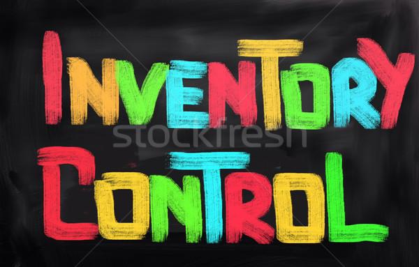 Inventário controlar fundo professor tempo cadeia Foto stock © KrasimiraNevenova