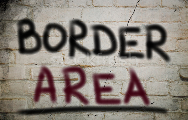 Border Area Concept Stock photo © KrasimiraNevenova