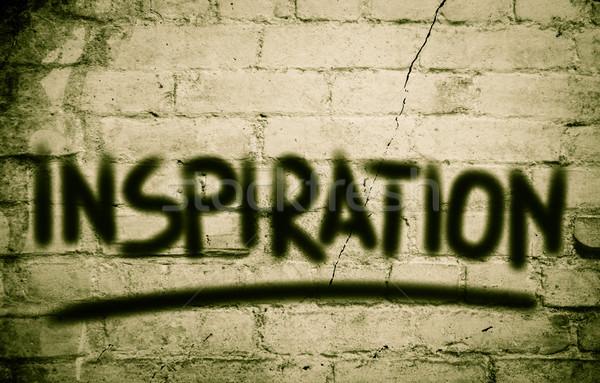 Inspiração negócio desafiar motivação positivo Foto stock © KrasimiraNevenova
