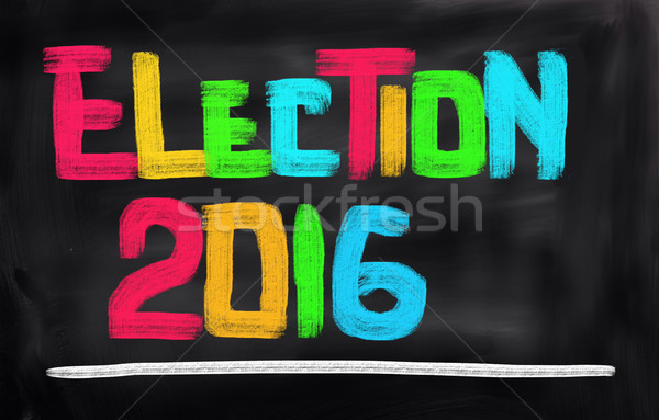 Elecciones datos jurídica votación política EUA Foto stock © KrasimiraNevenova