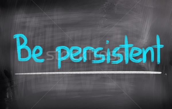 Aanhoudend onderwijs tekst verandering motivatie positief Stockfoto © KrasimiraNevenova