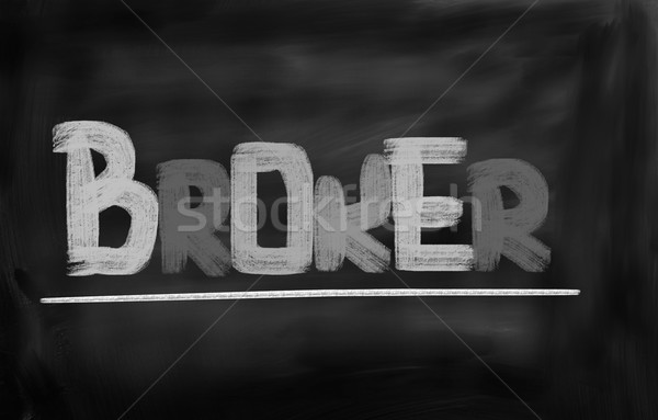 Broker Concept Stock photo © KrasimiraNevenova