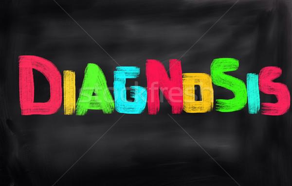 Diagnózis drogok információ profi törődés kutatás Stock fotó © KrasimiraNevenova