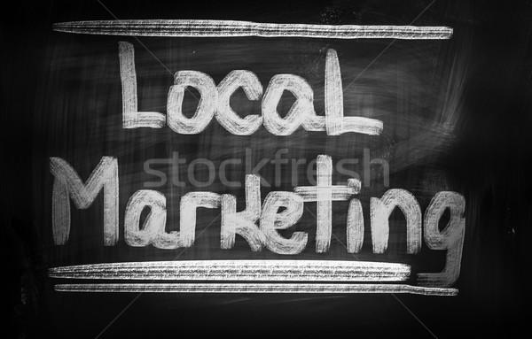 Local Marketing Concept Stock photo © KrasimiraNevenova