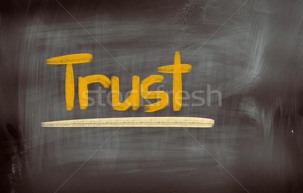 Trust Concept Stock photo © KrasimiraNevenova