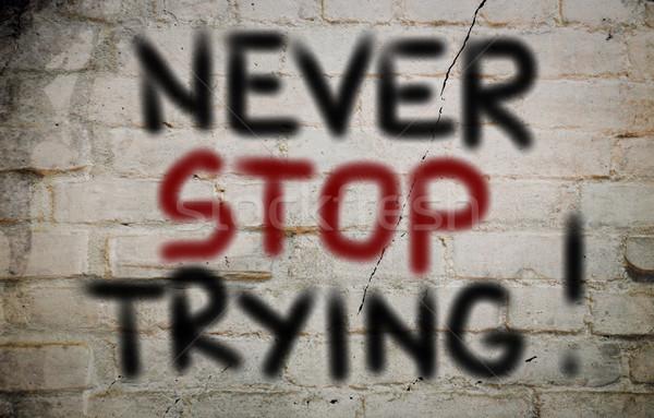 Сток-фото: никогда · остановки · бизнеса · фон · успех · лидера