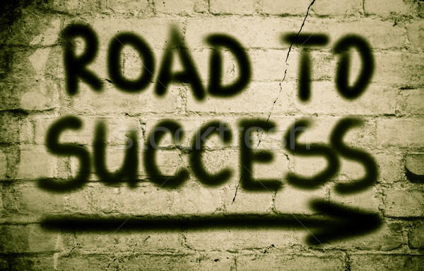 Road To Success Concept Stock photo © KrasimiraNevenova