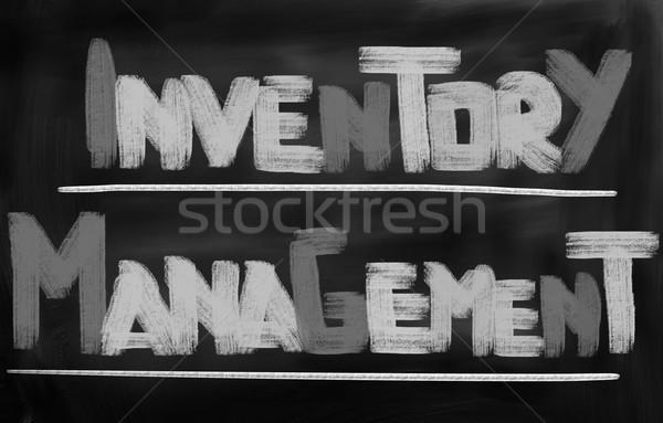 Inventory Management Concept Stock photo © KrasimiraNevenova